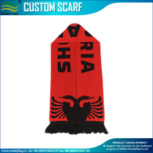 Albania Jacquard Acrylic Fan Scarf (M-NF19F10019) pictures & photos