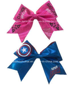 2016 Big Shiny Hair Bows pictures & photos