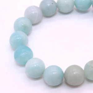 DIY Gemstone Loose Strand 4 6 8 10 12 mm Wholesale Natural Amazonite Beads Strand pictures & photos