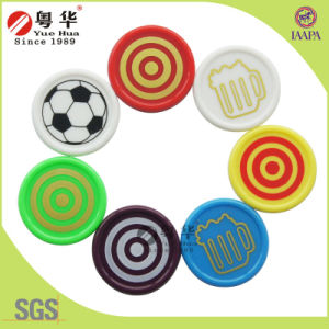 Free Custom Logo Quality Plastic Coins pictures & photos
