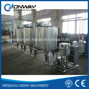 Stainless Steel CIP Cleaning System Alkali Cleaning Machine for Cleaning in Place Industrial Cleaning Equipment pictures & photos