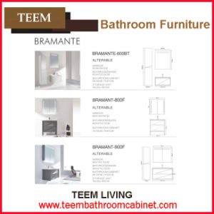 Yes Include Mirror and Modern Style Canada Popular Design Tempered Glass Basin Bathroom Vanity pictures & photos