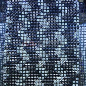 Beautiful Shinning Crystal Rhinestone Trimming 24 Rows pictures & photos