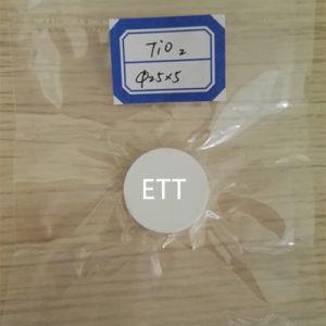 TiO2 Titanium Dioxide Target, Chinese Supplier --Ett pictures & photos