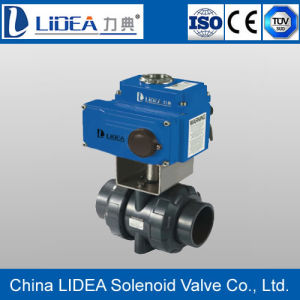 Factory Price Long Lifespan Electric UPVC Ball Valve Made in China