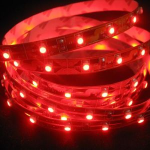 Red SMD5050 60LEDs IP20 Flexible LED Strip for LED Whips