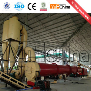 Yufeng Energy-Saving 1.5*12m Rotary Dryer pictures & photos