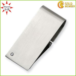 Wholesale Custom Cheap Stainless Steel Money Clip with Blank pictures & photos