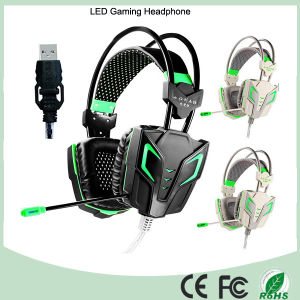 Rock Bottom Price LED Wired Gaming Headphone Headset (K-13) pictures & photos