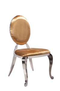 Whole Sale Stainless Steel Legs with PU Base Dining Chair pictures & photos