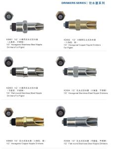 High Quality Stainless Steel Nipple Drinker Kd605 pictures & photos