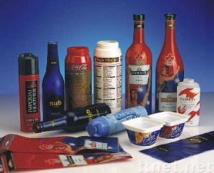 Pet Shrink Film for Beverage Sleeve Label, Cosmetics Label pictures & photos