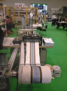 Ctf4 Mattress Border 3D Mesh Sewing and Zipper Machine pictures & photos