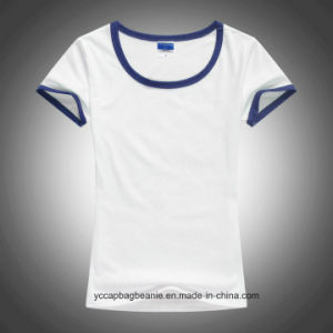 New Women Fitted Blank T-Shirts pictures & photos