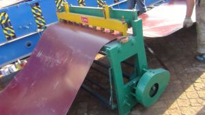 Dx Foot Step Steel Sheet Cutting Machine pictures & photos