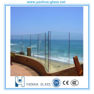 8mm 10mm 12mm Tempered Swimming Glass Pool Fence/Fencing