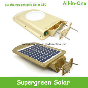 Outdoor Solar LED Security Light with Motion Sensor