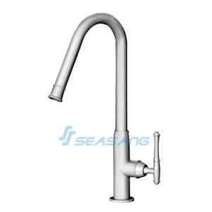 Single Handle Single Hole Kitchen Sink and Bar Antique Faucet pictures & photos