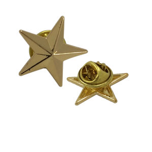 Garment Accessories Cheap Wholesale Star Metal Brooches pictures & photos