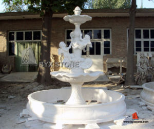Stone Marble Carved Water Fountain for Outdoor Garden/Landscape/Yard pictures & photos