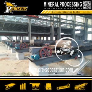 Tin Wilfley Vibrating Shaker Table Stannum Ore Mining Machine Price
