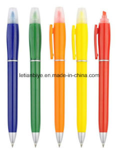 Promotion Gift Highlighter Ball Pen (LT-A029) pictures & photos