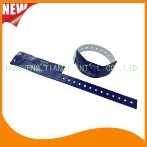 Vinyl Entertainment 3 Tab Plastic Wristbands ID Bracelet Bands (E6070-3-16) pictures & photos