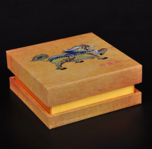 Wood Grainy Paper Covering Jewel Box pictures & photos