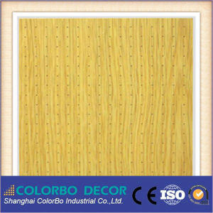 Pl616 Melamine Surface MDF Core Acoustic Panel pictures & photos