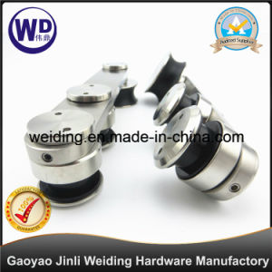 304 Stainless Steel Bathroom Diecasting Accessory Hanging Wheel Wt-901 pictures & photos