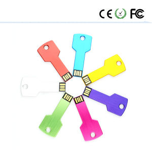 Metal USB Stick Colorful Key USB Flash Disk 2GB-64GB Pendrive pictures & photos