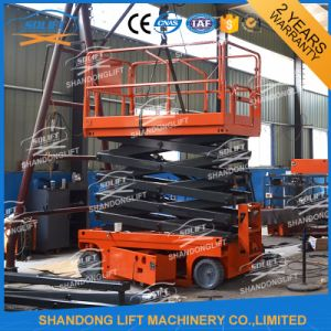 Self Propelled Hydraulic Scissor Lift Scaffolding Mobile Scaffolding for Sale pictures & photos