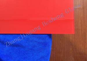 5mm Red Toughened Glass as Decoration