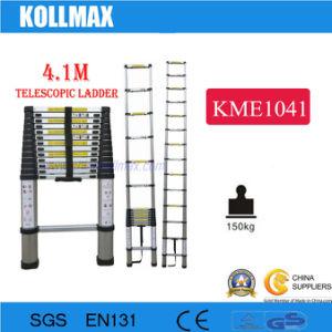 4.1m Aluminumtelescopic Ladder pictures & photos