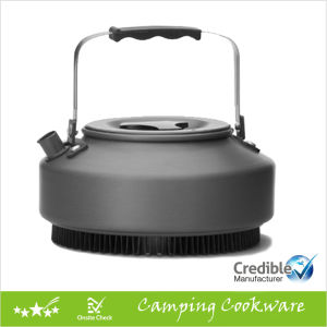 900ml Durable Camping Kettle with Heat Transmitte pictures & photos