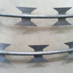 4.0 mm Galvanized Razor Barbed Wire pictures & photos