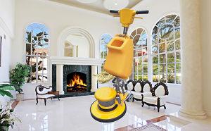 Single Disc Floor Cleaner Floor Scrubber pictures & photos