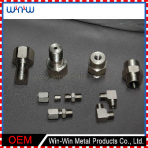 Machined Parts Stainless Pipe Fitting Bolt and Nut (WW-MP017) pictures & photos