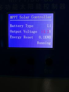 Solar 12V 24V 36V 48V 60V 72V 96V Optional and Adjustable 99.8 % High Efficiency Solar Charge Controller pictures & photos