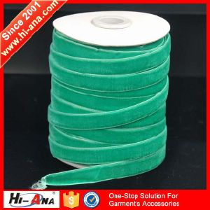 Free Sample Available Finest Quality Velvet Ribbon pictures & photos