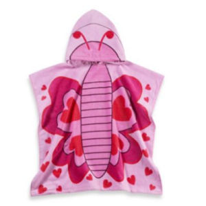 Cotton Printed Beach Poncho for Kids/Girls/Boys Made in China pictures & photos