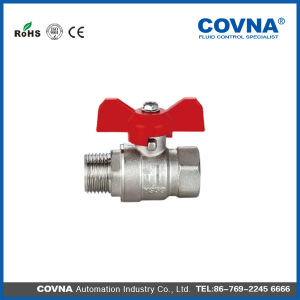 "3/4"" Covna Forged Brass Ball Valve with T Handle pictures & photos"