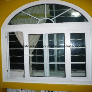 UPVC Sliding Window With Arch (TS-0143) pictures & photos
