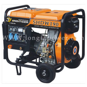 10HP Diesel Engine Electric Start Portable Diesel Welding Generator pictures & photos
