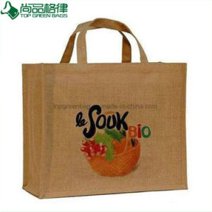 Large Delux Shopping Tote Jute Bag (TP-SP530) pictures & photos
