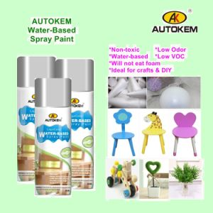 Eco-Friendly Spray Paint, Water Based Aerosol Paint, Water Based Spray Paint, Arylic Spray Paint, Low Odor pictures & photos