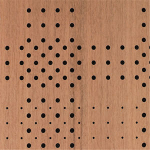 Moisture Proof Art Acoustic Wall Panel for Bathroom (WY-A016) pictures & photos