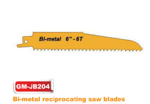 Bi-Metal 6′′-6tpi Reciprocating Saw Blade (GM-JB204) pictures & photos