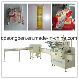 Tray-Less Biscuit on Edge Packing Machine pictures & photos