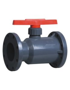 Best Quality UPVC Flange Ball Valve, PVC Valve, Industrial Plastic Valves pictures & photos